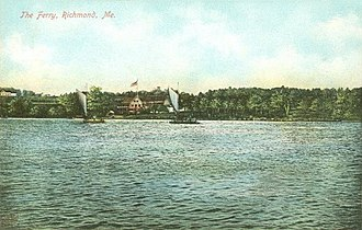 Richmond, Maine - Image: The Ferry, Richmond, ME