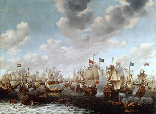 Four Days Battle Large naval battle in June 1666 between England and the Netherlands; Dutch victory