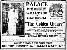 The Golden Chance - newspaperad - 1916.jpg