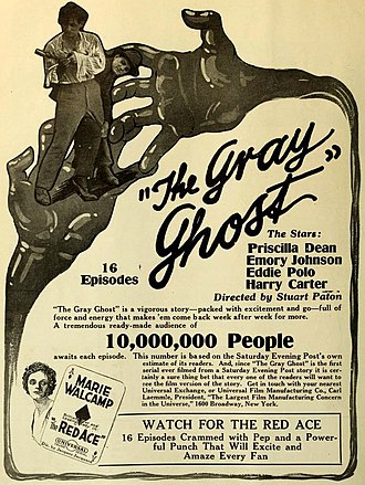 The Gray Ghost (serial) - Film advertisement
