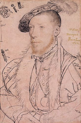 Sir Thomas Parr - Image: The Marquess of Northampton by Hans Holbein the Younger