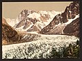 The Mer de Glace, Aiguille du Geant and Les Grandes Jorasses, Chamonix Valley, France-LCCN2001697621.jpg