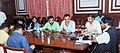 The Minister of State for Social Justice & Empowerment, Shri Ramdas Athawale addressing a press conference, in Mumbai on July 14, 2017.jpg
