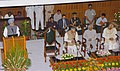 The Prime Minister, Dr. Manmohan Singh addressing at the inauguration of the Parliament Museum, in New Delhi on August 14, 2006.jpg