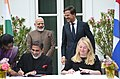 The Prime Minister, Shri Narendra Modi and the Prime Minister of Netherlands, Mr. Mark Rutte witnessing the signing of MoUs between India and Netherlands, at Amsterdam, Netherlands on June 27, 2017 (1).jpg