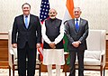 The Prime Minister, Shri Narendra Modi meets the US Secretary of State, Mr. Michael R. Pompeo and the US Secretary of Defence, Mr. James Mattis, in New Delhi on September 06, 2018.JPG