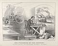 The Progress of the Century – The Lightning Steam Press. The Electric Telegraph. The Locomotive. The Steamboat. MET DP853581.jpg