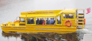 The Queen in the Yellow Duckmarine, Albert Dock, Liverpool.png