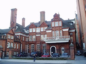 Royal Geographical Society - Lowther Lodge, Royal Geographical Society (with IBG) headquarters, designed by Richard Norman Shaw
