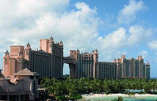 Atlantis Paradise Island ocean-themed resort in the Bahamas