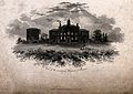 The Smallpox Hospital, St Pancras, London. Engraving by T. W Wellcome V0013637.jpg