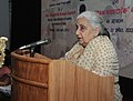 """The Union Minister for Culture, Smt. Chandresh Kumari Katoch addressing at the inauguration of the Volunteer Guide Programme """"Path Pradarshak"""" of National Museum, in New Delhi on April 22, 2013.jpg"""