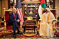 The Vice President holds a bilateral meeting with His Highness Sheikh Mohammed Bin Rashid Al Maktoum of the United Arab Emirates.jpg