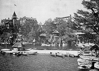 Lake Mohonk - Image: The Wallkill Valley in art and story (1899) (14753574036)