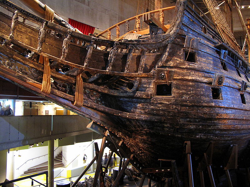 Fichier:The Warship Vasa - Bow side.JPG