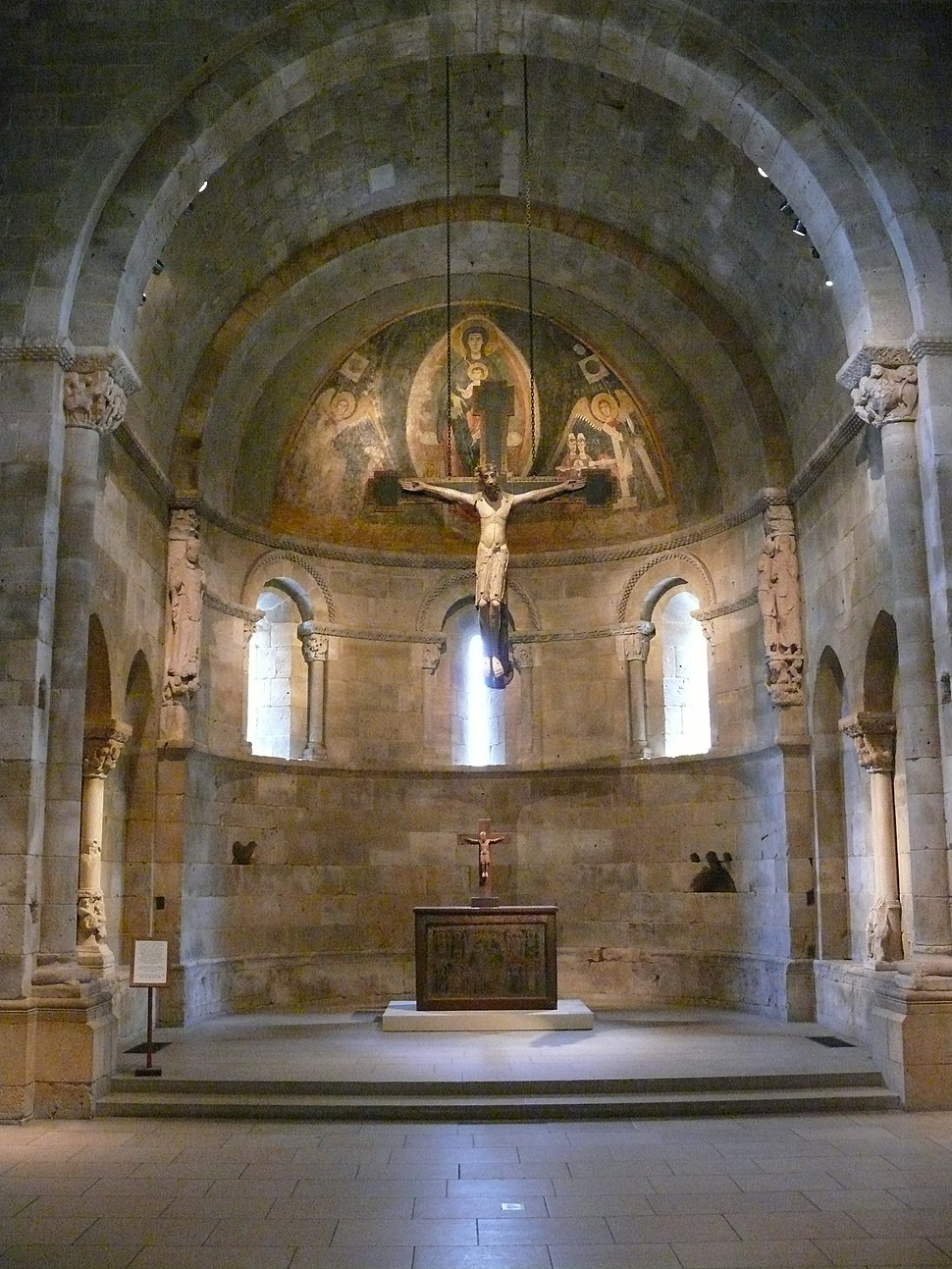 The cloisters chapel reconstruction
