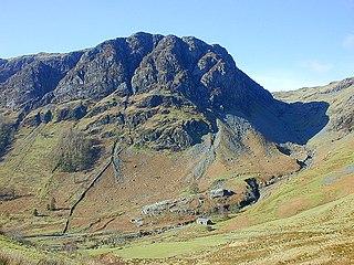 Glasgwm mountain in United Kingdom
