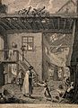 The rich visiting the poor and needy bringing alms, with a q Wellcome V0015214.jpg