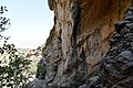 The rock-relief of Naram-Sin at Darband-i Gawr, c. 2200 BC, Qaradagh Mountain, Sulaymaniyah, Iraq.jpg