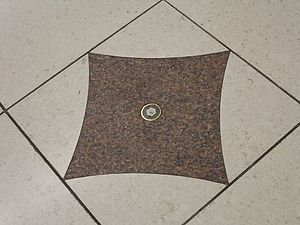 Osachi Hamaguchi - The spot at Tokyo Station where Osachi Hamaguchi was shot