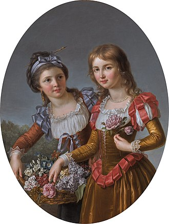 Marie-Victoire Lemoine - Image: The two sisters, by Marie Victoire Lemoine