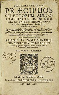 <i>Theatrum Chemicum</i>