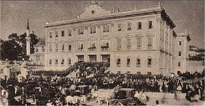 Government House (Thessaloniki) - The inauguration in 1892