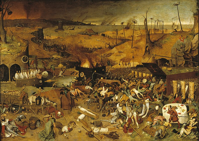 Pieter Bruegel's The Triumph of Death (c. 1562).