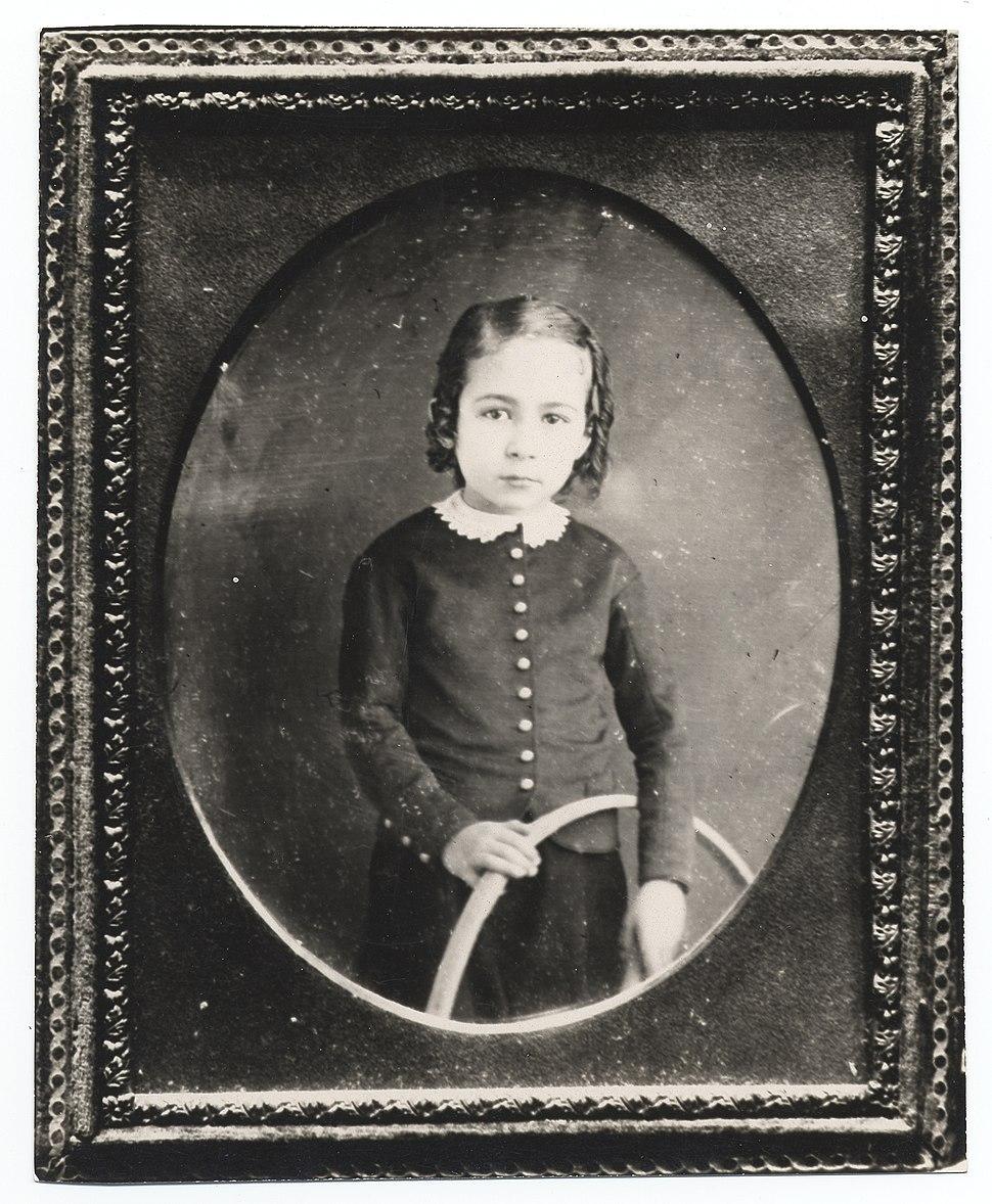Thomas Eakins as a young boy