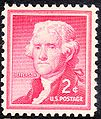 Thomas Jefferson Regular Issues 1954-2c.jpg