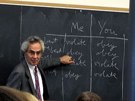 Thomas Nagel teaching Ethics.JPG
