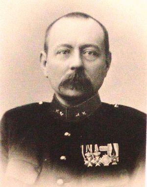 Lodewijk Thomson - First lieutenant Thomson in 1910