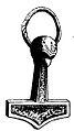 Thor's hammer, Mandemark, Mön.jpg
