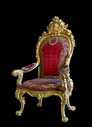Throne Charles III of Spain
