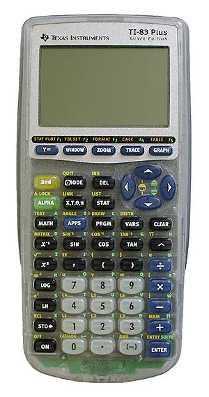 TI-83 series - TI-83 Plus Silver Edition