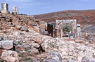 Tiddis a Roman city located in the Constantine Province in Algeria.