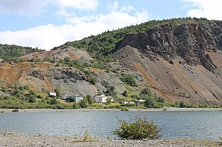 Tilt Cove Town in Newfoundland and Labrador, Canada