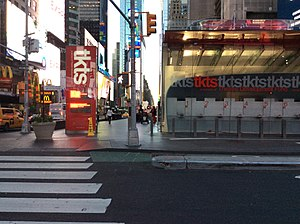 TKTS - From Seventh Avenue