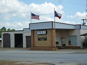 Timpson, Texas - Image: Timpson Texas Policecityhallcourt