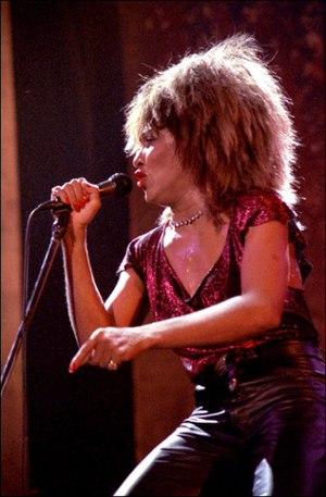 Tina Turner, Drammenshallen, Norway, February ...