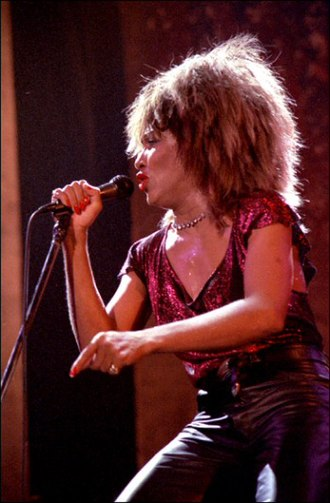 Tina Turner - Turner performing in Norway, 1985