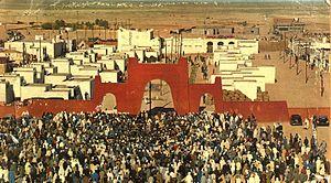 Tindouf - Tindouf in the 1970s