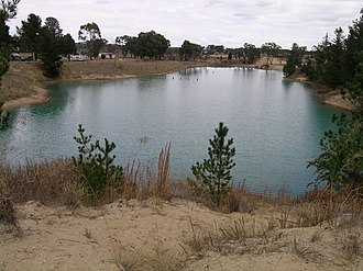 Tingha, New South Wales - Swimming hole, Tingha