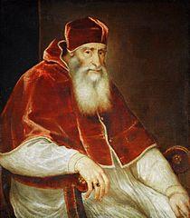 Papst Paul III. Farnese (1468-1549)