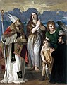 Tiziano - 'St Mary Magdalene, St Blaise, the Archangel Raphael with Tobias and the Donator' after conservation.jpg