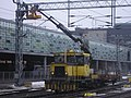 Tka7 used to repair overhead lines in Jyväskylä.JPG