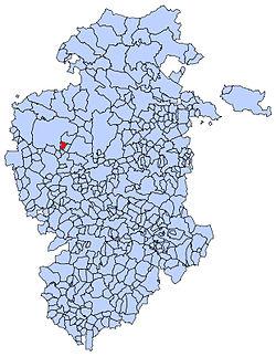 Municipa loko de Tobar en Burgosa provinco