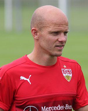 Tobias Werner - Werner training with VfB Stuttgart in 2016