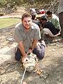 Toby Eastoe, Fauna & Flora International, Cambodia, 2009. Photo- AVI - AusAID (10730256743).jpg