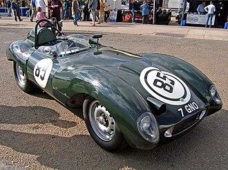 John Tojeiro - One of John Tojeiro's Jaguar D-type-engined sports cars of the mid-1950s.